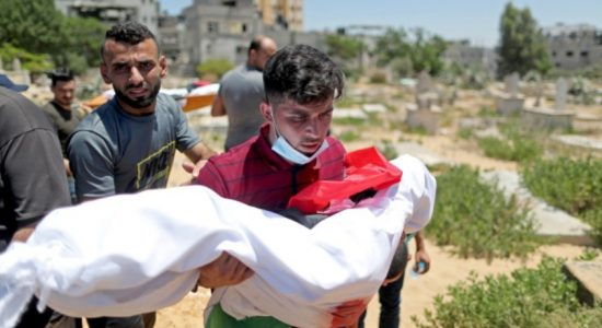 Gaza death toll jumps to 192 as Netanyahu tries to hold on to Power in Israel