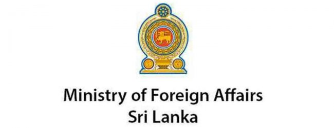 Limited Services by Consular Affairs Division at Foreign Ministry