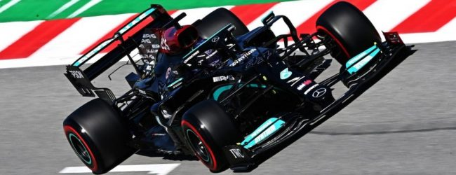 Hamilton secures victory in Spain after race-long battle with Verstappen