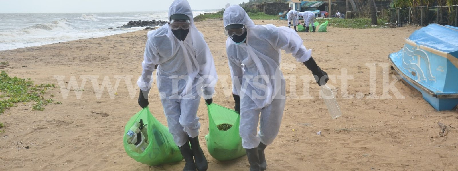 (Pictures) Army deployed along Coastal Belt to prevent debris looting