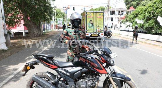 Female Special Riders Monitor Spread of COVID-19 in Jaffna