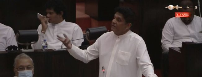 Sajith slams government over Port City Bill