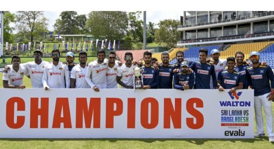 Sri Lanka beats Bangladesh by 209 runs, wins series 1-0