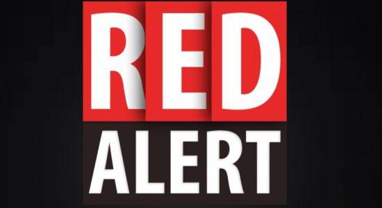 CODE RED landslide evacuation warning for multiple areas