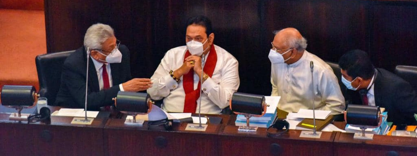 (PICTURES) President Gotabaya Rajapaksa visits Parliament