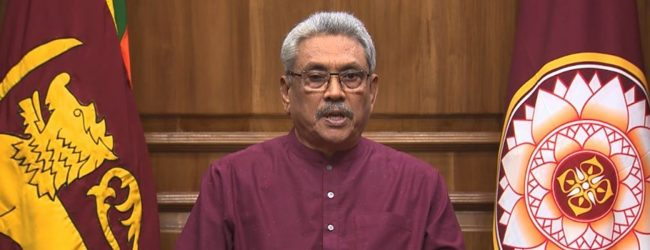 Decisions on the pandemic taken based on expert advice ; President