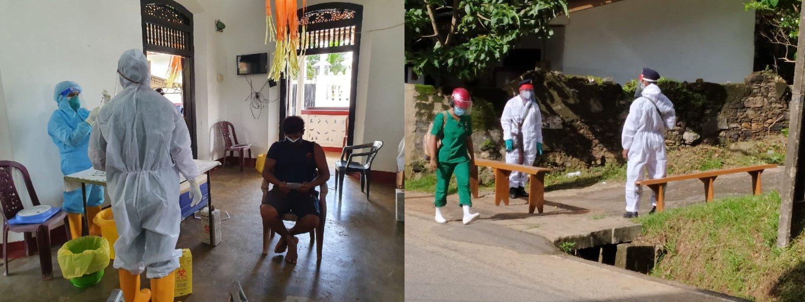 Vaccination drive in Galle, Matara & Kurunegala commences