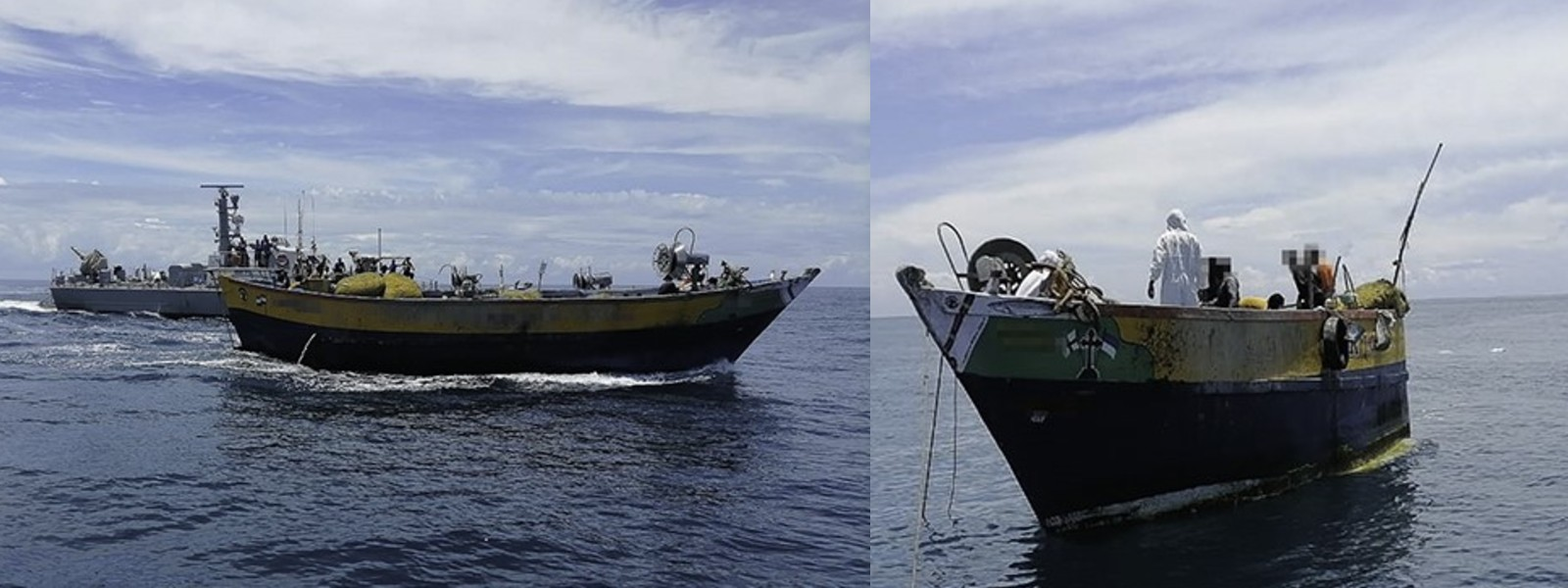 Navy prevents 11 Indian fishing vessels from entering Sri Lankan waters