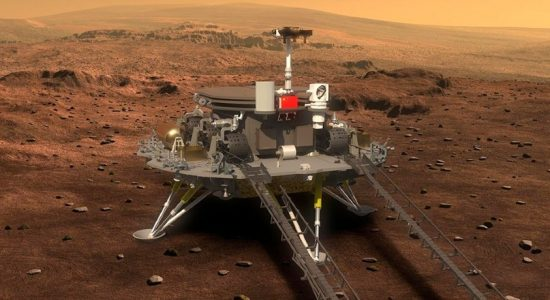 China has successfully landed a spacecraft on Mars – State Media