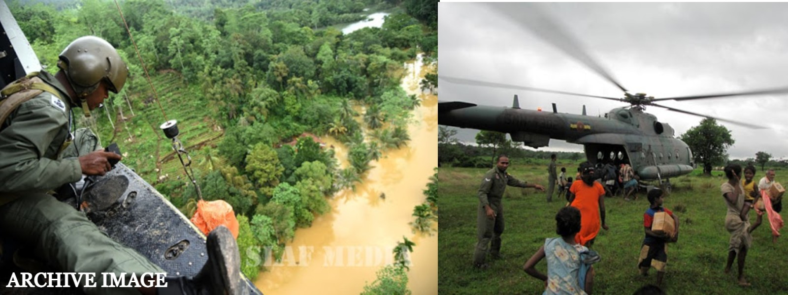 Air Force puts helicopters and troops on stand-by for Search and Rescue Operations