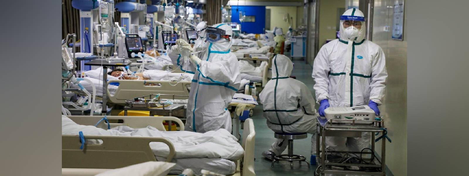 COVID-19: Capacity in hospitals reaching maximum level