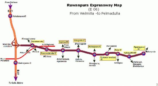 Sri Lanka begins work on its 07th Expressway –  The Ruwanpura Expressway