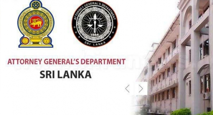Plaque at AGs Dept. removed & replaced for inadvertently not containing Tamil language