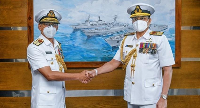 Rear Admiral YN Jayarathne, New Navy Deputy Chief of Staff
