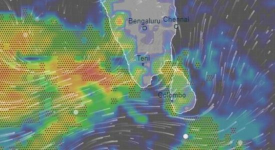 Sri Lanka issues warnings for landslides and fishing due to bad weather