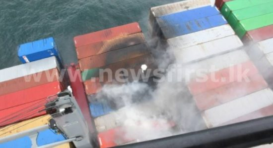 08 Freight Containers from X-PRESS PEARL fall into Sri Lankan waters