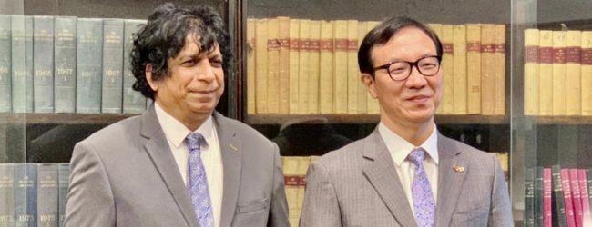 Korean Ambassador calls on Attorney General; discusses legal cooperation