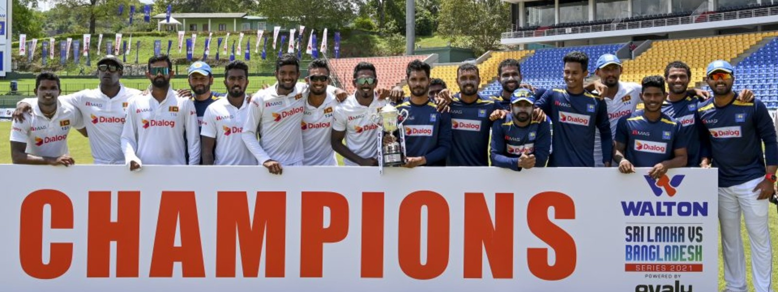 Sri Lanka beats Bangladesh by 209 runs, wins series 1-0