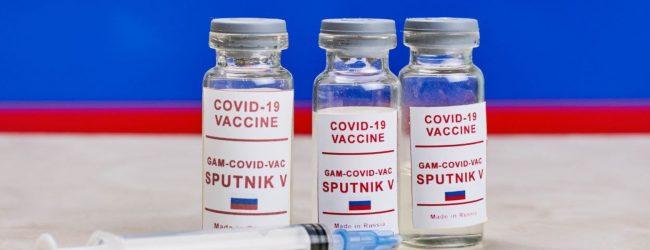 Sputnik-V jab will be administered in Sri Lanka from today