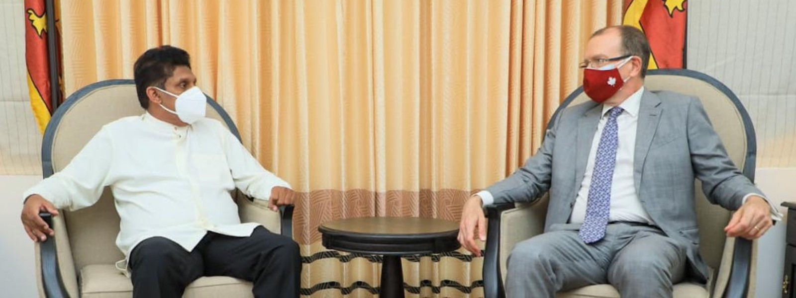 Canadian High Commissioner meets Opposition Leader for talks