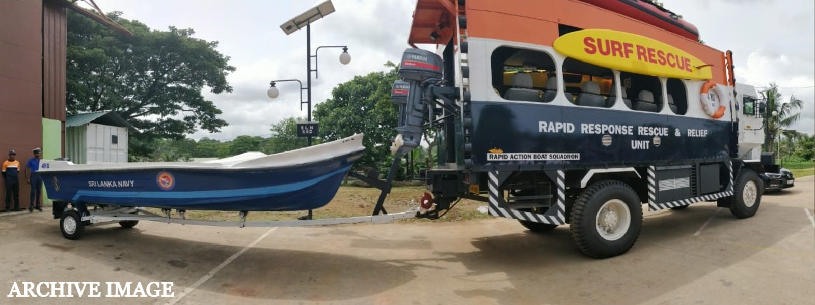 Sri Lanka Navy deploys rescue and relief teams to flood risk areas