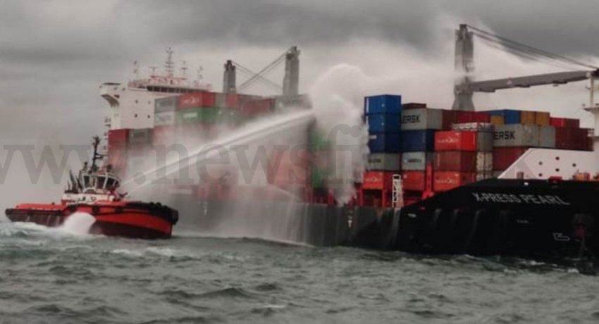 'X-PRESS PEARL' instructed to move out of SL waters: MEPA