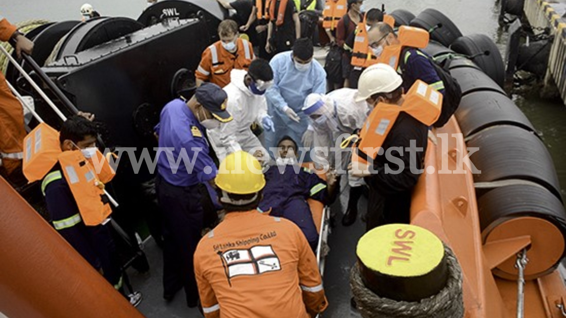 Indian crew member rescued from blazing ship tests positive for COVID-19