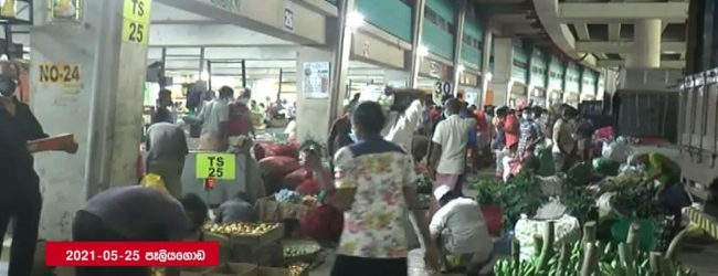 (VIDEO) Thousands rush to stores to gather essentials as restrictions relaxed