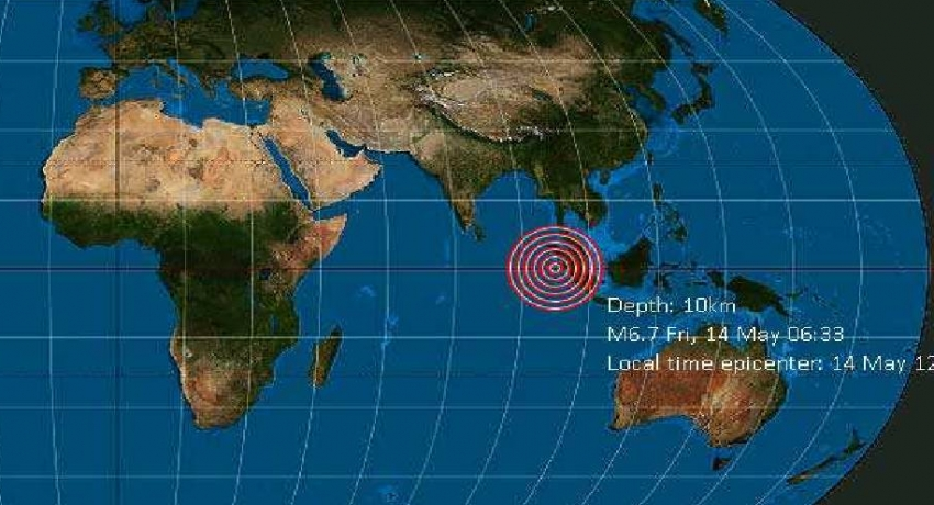 NO threat to Sri Lanka after Sumatra earthquake: DMC