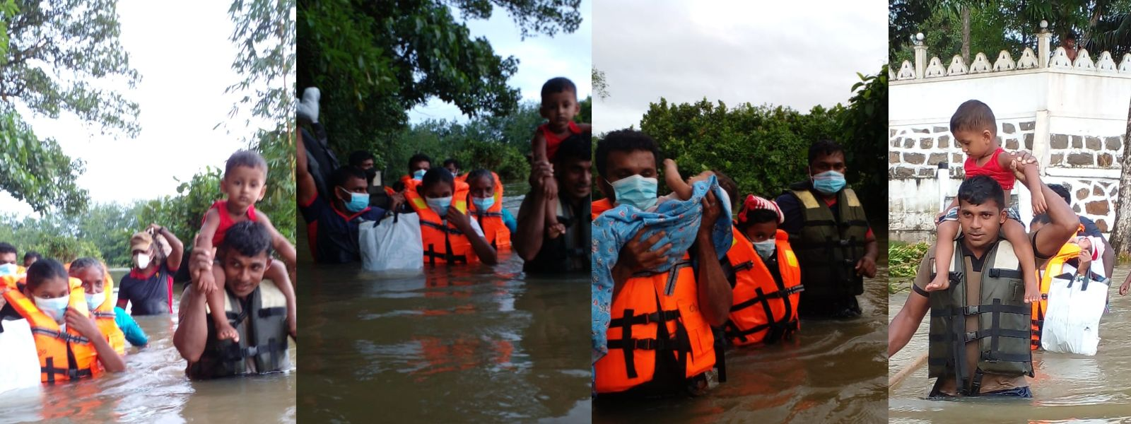 (PICTURES) Army continues flood and landslide rescue operations