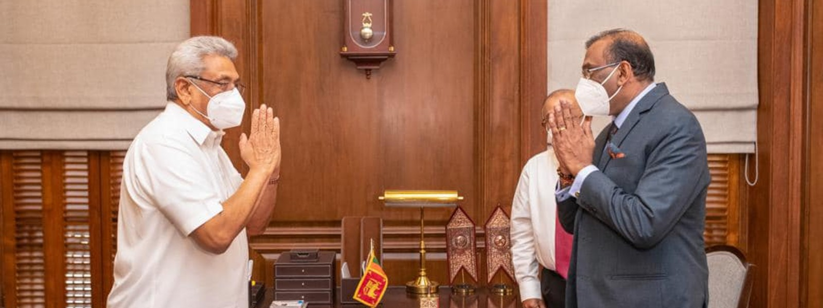 Sanjay Rajaratnam sworn in as new Attorney General