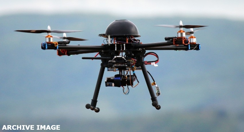 Police deploy drones to monitor traffic in Colombo