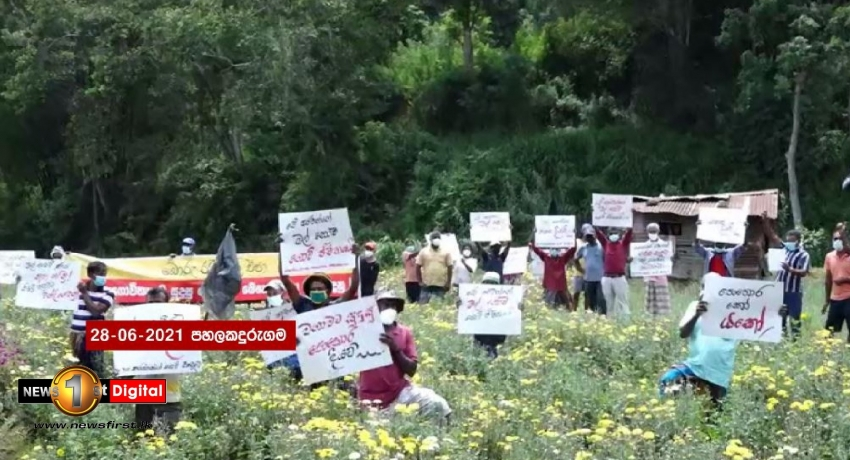 (PICTURES) Farmers protests rage across Sri Lanka