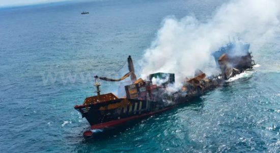 CEO of vessel operator apologizes for impact of sunken container ship