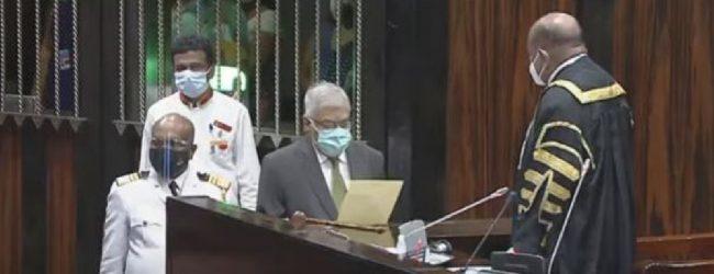 Ranil Wickremesinghe re-enters Parliament as an MP