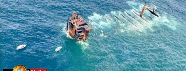 54 objects detected by Indian Navy around X-Press Pearl wreck