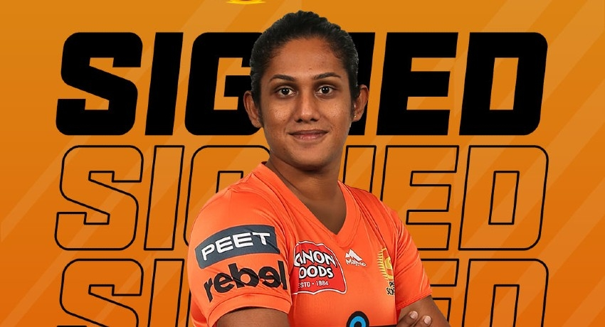 Perth Scorchers sign Chamari Athapaththu for Women's BBL 2021/22