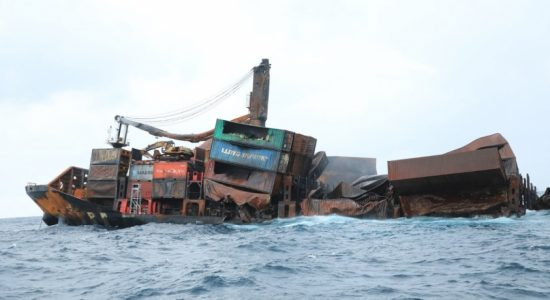 No signs of debris and no reports of oil pollution; X-Press Pearl operator