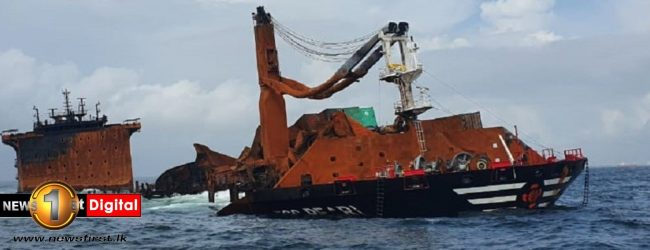 X-Press Pearl wreck can only be removed after monsoon; says operator