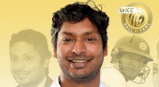 Kumar Sangakkara inducted into theICC Hall Of Fame2021