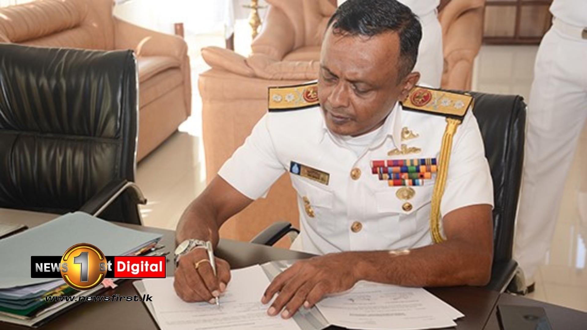 Rear Admiral Upul De Silva New Commandant of Volunteer Naval Force