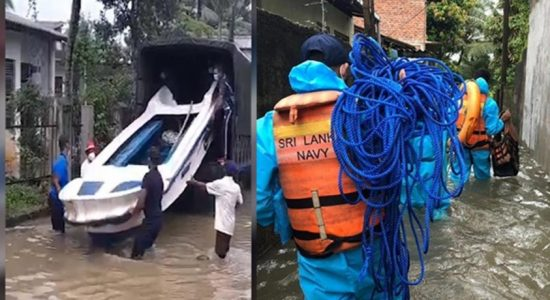 (VIDEO) Navy ushers immediate relief to people affected by floods