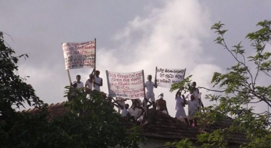Welikada prisoners demand Death Sentence be commuted to Life In Prison