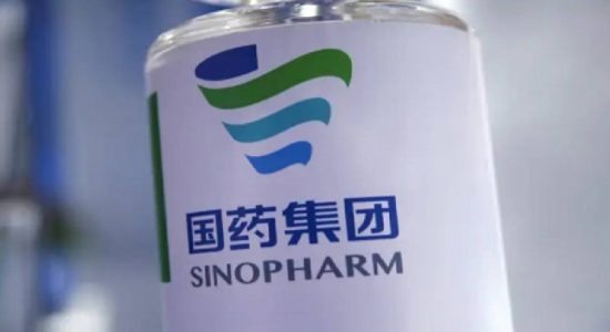 Sinopharm 01st dose for those over 60-years in WP