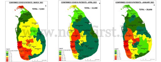NOCPCO releases monthly details of COVID cases in Sri Lanka