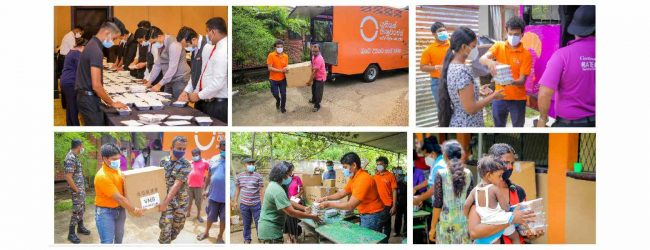 Union Assurance & Cinnamon Hotels Provides Over 3,000 Meals to Flood Victims