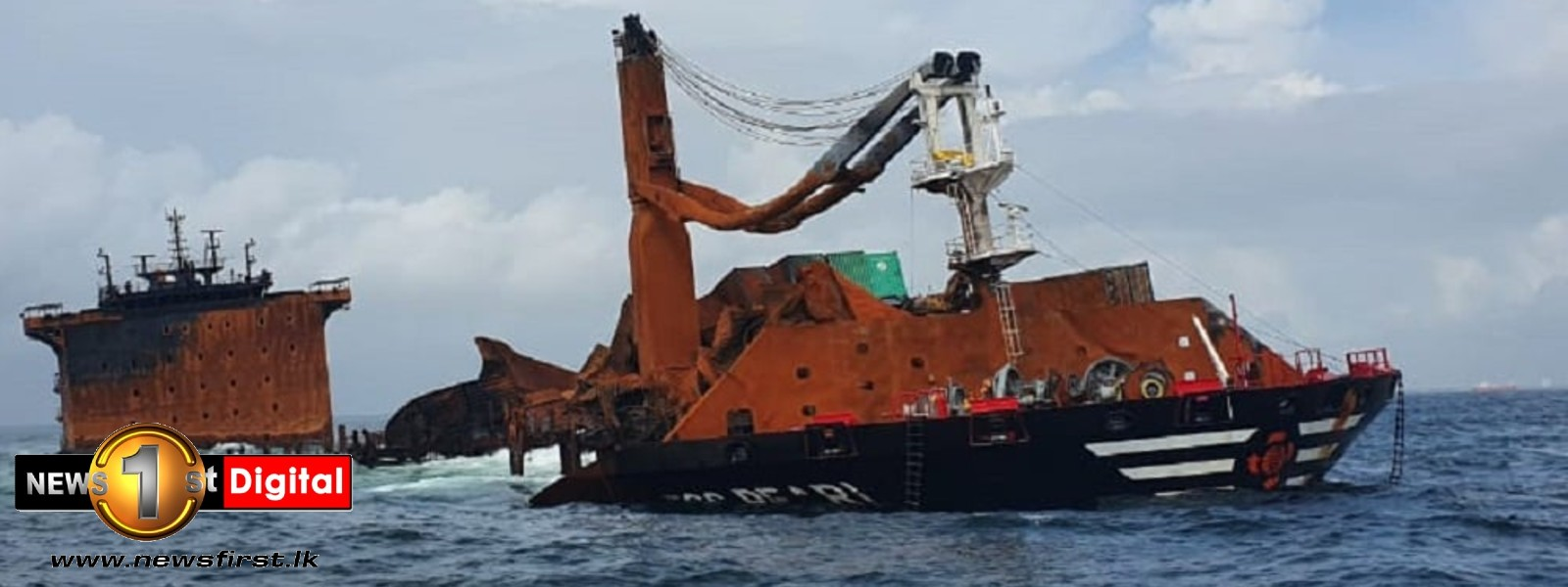 SL looking at international offers on X-Press Pearl wreck; UN experts to arrive soon