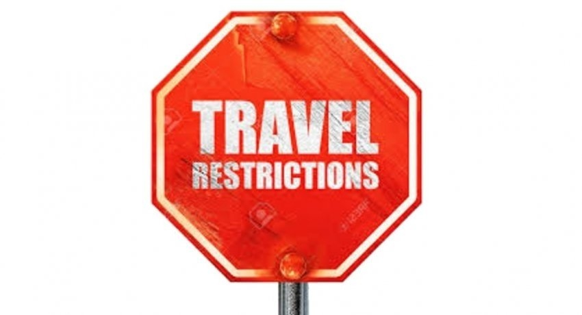 TRAVEL RESTRICTIONS EXTENDED TO 14TH JUNE