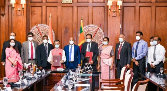 US$ 100 million LoC for Projects in the Solar Energy Sector in Sri Lanka