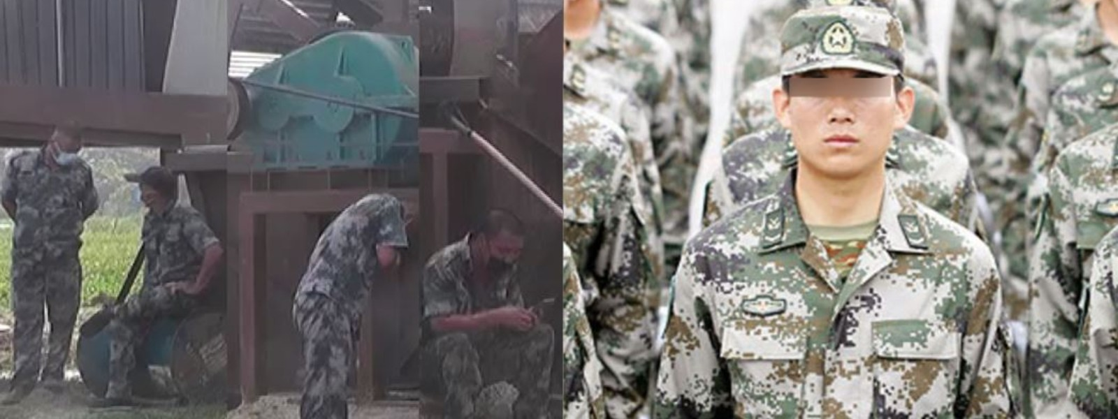 Chinese Military involved in Joint Venture to clean irrigation tanks ?
